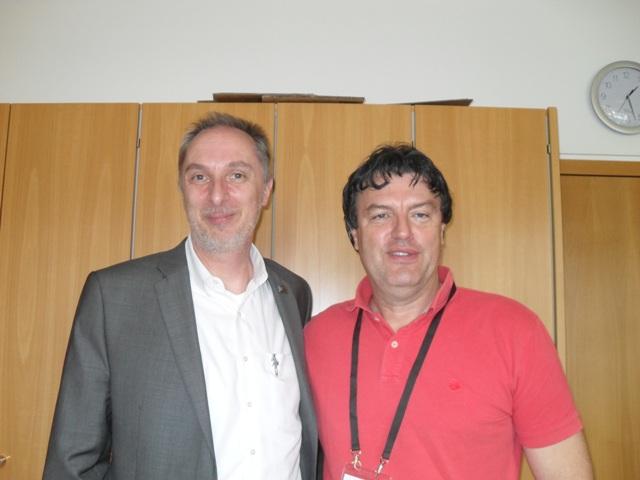 Eric sa dekanom u Frankfurtu