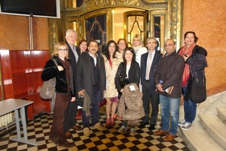 Gosti iz Ankare sa nastavnicima