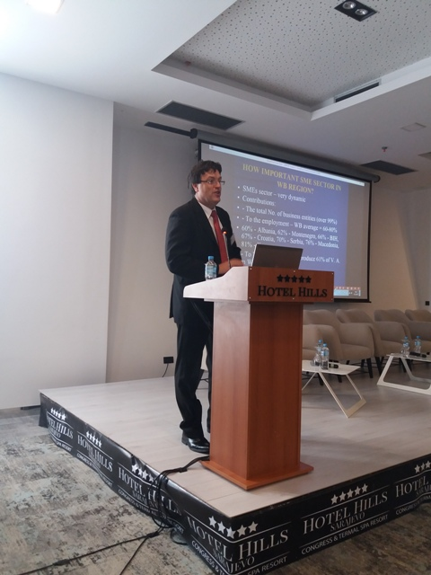 Profesor Erić kao prezentator
