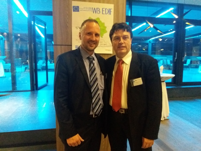 Wolfgang Schleager rukovodilac Western Balkan Investment Framework i prof. dr Dejan Erić