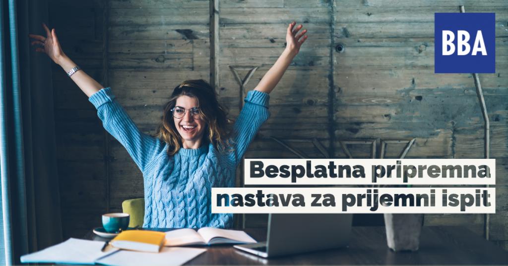 Besplatna pripremna nastava za prijemni ispit