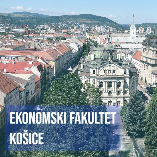 Međunarodna saradnja Ekonomski fakultet Košice